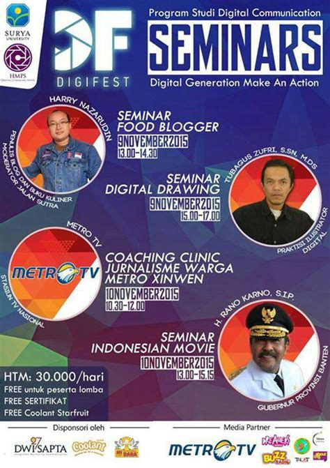who is going to be at digifest 2015 world market news digital festival digifest 2015 about tangerang