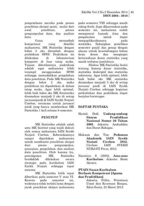 Panduan Audit Sistem Mutu Penerbit Bumi Aksara jurnal eduma desember 2014