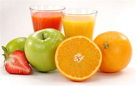 fruit juice healthy drinks
