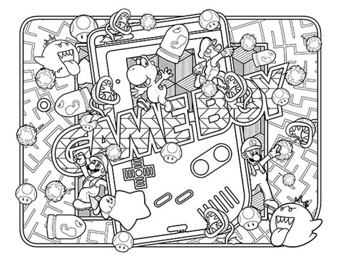 90s Coloring Page by I Trouble Staying In The Lines 90 S Coloring Book