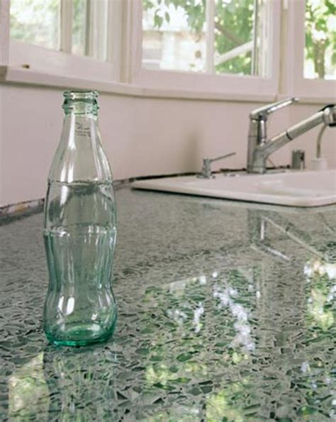 Recycle Glass Countertop by Or Not Vetrazzo Recycled Glass Countertops