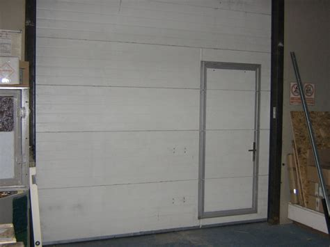 garage doors with pedestrian door techpaintball