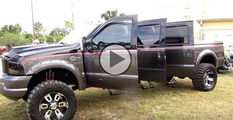 6 Door Truck by 6 Door Truck We All Want This Custom Ford F250 Harley