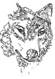 wolf coloring pages for adults free coloring pages of mandala wolf