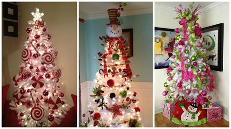 best 28 arboles de navidad blancos como decorar un