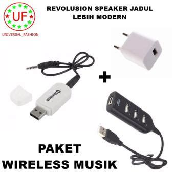 Usb 2 0 Hub 7 Port Usb Putih bluetooth audio receiver wireless musik putih adapter