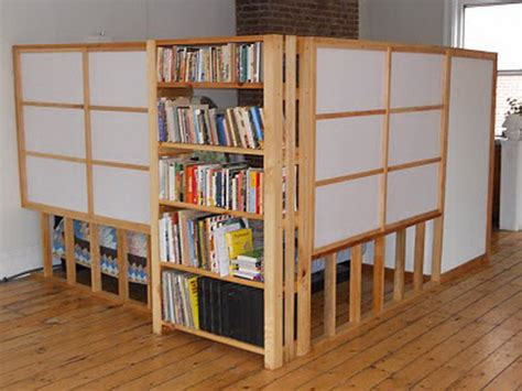 furniture how to use bookshelves as room dividers ikea
