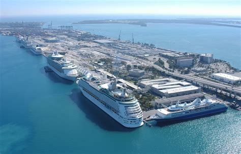 miami port portmiami breaks another cruise passenger record wtth 4 8m