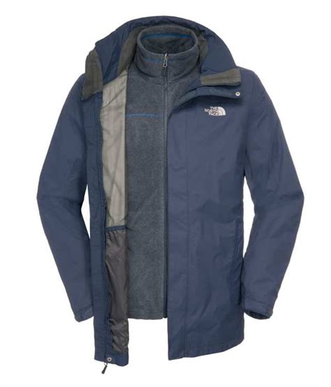 Qingluoq Tricombo Fleece buys the mens triton triclimate jacket