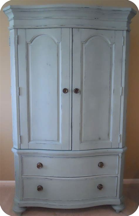 chalk paint armoire 1060 bliss a little armoire re do