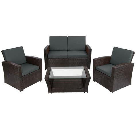 sitzpolster lounge gartenmöbel 12 teilige polyrattan sitzgruppe garten lounge inkl