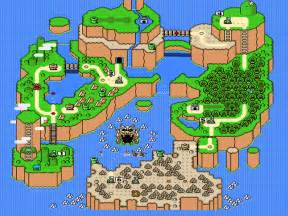 Mario World Map by Gaming In Retrospect Iii Super Mario World On Snes