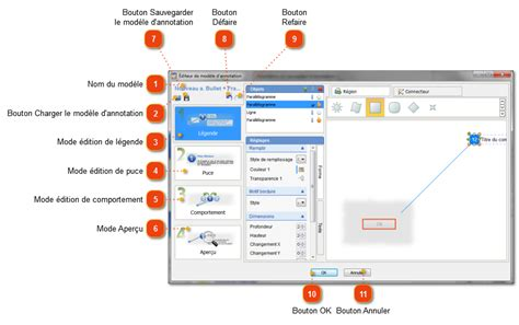 annotation template editor