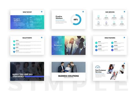 Clean Powerpoint Template Presentation Templates On Slideforest Clean Powerpoint Template