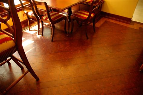 hardwood style cork flooring traditional new york by