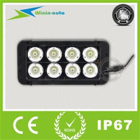 Pcb 80watt Pmpo Power Lifier ip67 rate 8 80w utv led light bar with cree wi9025 80