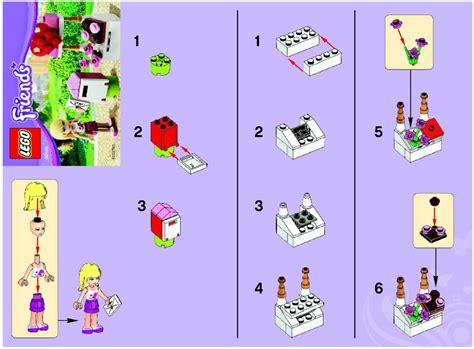 Lego Polybag Friends Mailbox Set 30105 lego mailbox 30105 friends