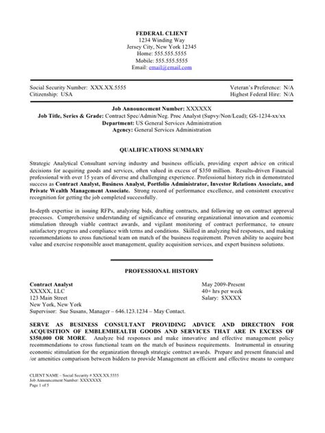 Federal Resumes Sles 100 federal resume sles best dissertation