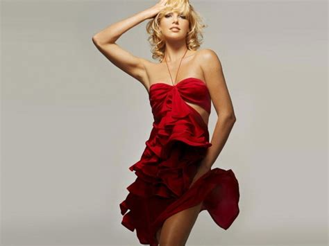 Charlize Theron Pretends To Model by Wallpaper American Model And Charlize Theron
