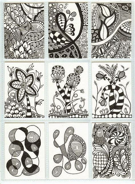 doodle pattern ideas zentangle flowers and zentangle bilder land