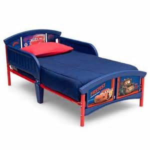 Toddler Car Bed Mattress Disney Cars Plastic Toddler Bed Walmart