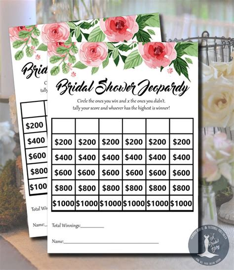 free printable bridal shower jeopardy game 1000 ideas about bachelorette jeopardy on pinterest hen