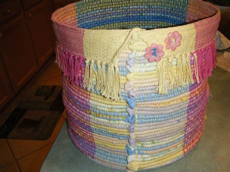 rag rug material suppliers this is one of my favorite creations a handwoven quot rag rug bin quot use it to store yarn supplies