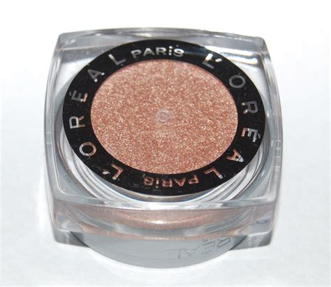 l oreal infallible colors l oreal infallible eye shadow color blinged and brilliant 607