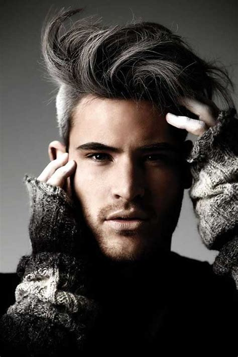 mens grey curly hair styles 15 men s shaved hairstyles mens hairstyles 2018