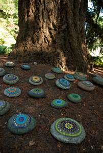 painted garden rocks dunn gardens painted rock garden cool way to up