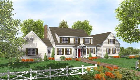 Two Story Cape Cod House Plans by 2 Story Cape Cod Home Plans For Sale Original Home Plans