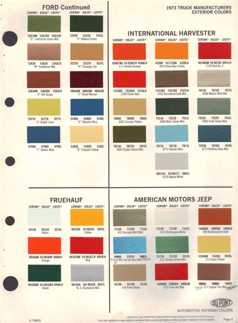 ford truck paint colors atamu