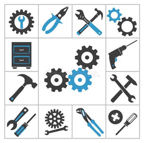 icon design tool online tools icons royalty free stock photo image 35604215