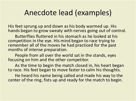 Anecdotes Exles For Essays by College Essays College Application Essays Anecdote Exles In Essay