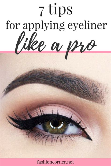 7 tips for applying eyeliner like a pro fashion corner