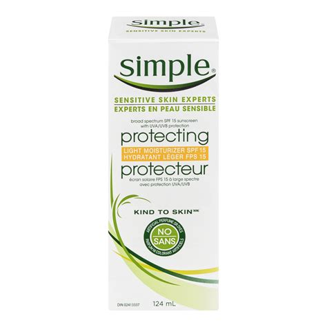 simple protecting light moisturizer spf 15 review simple kind to skin protecting light moisturizer spf 15