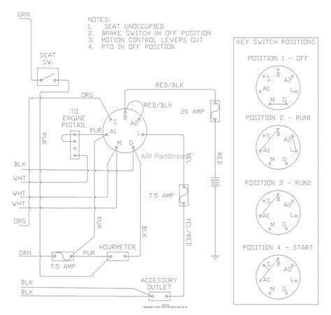 husqvarna iz  tkoa    parts diagram  wiring diagram part