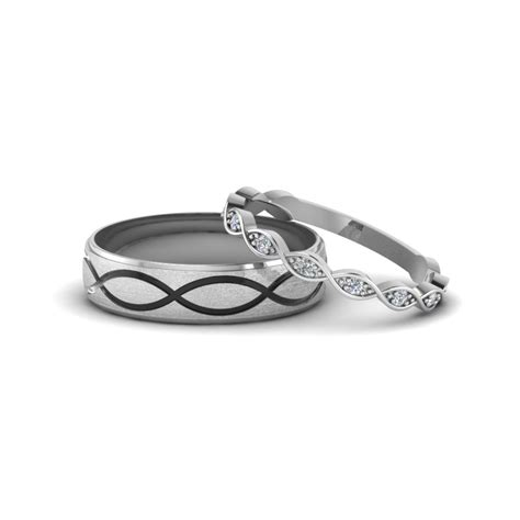 Wedding Bands Matching by Matching Wedding Bands For Him And Fascinating Diamonds