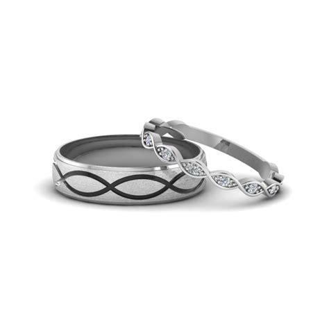 wedding bands matching matching wedding bands for him and fascinating diamonds