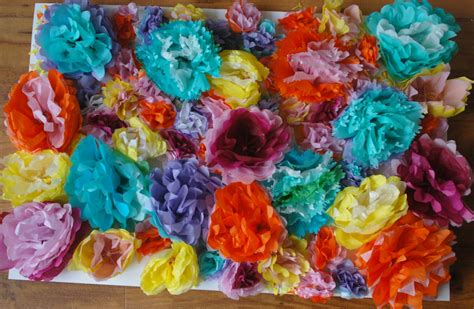 How To Make Coral Out Of Paper - tissue papers flowers itsweet savory