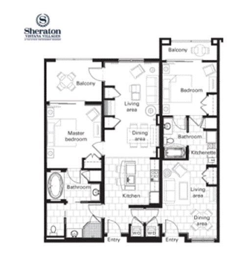 sheraton vistana villages floor plan bay tree solutions