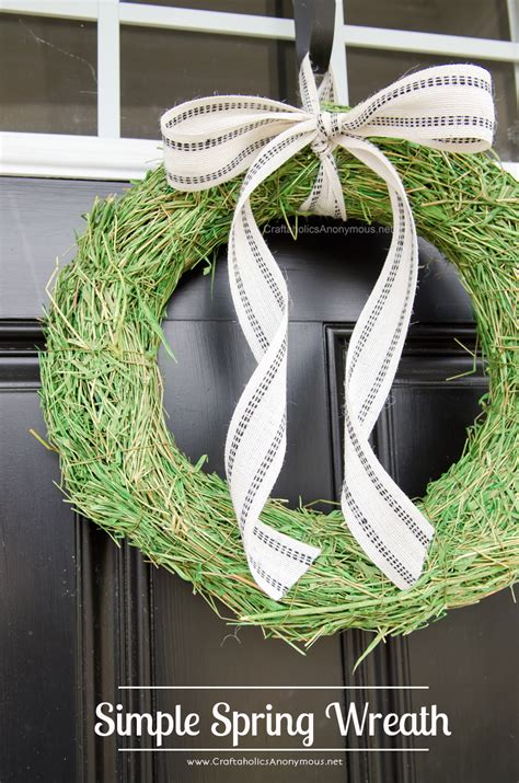 spring wreaths for your front door simply kierste design co craftaholics anonymous 174 3 spring wreaths you can make in