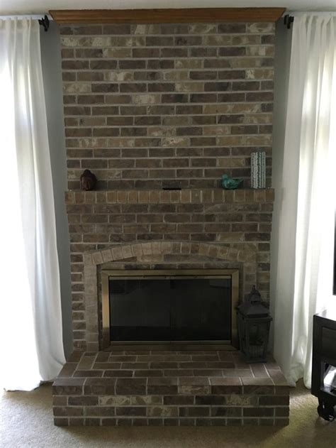 Mount Tv On Fireplace Brick by Mounting Tv Above Fireplace With Brick Mantel