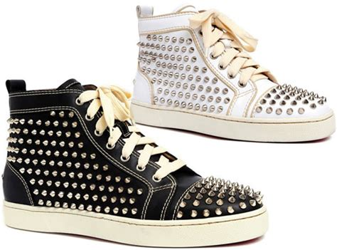 mens christian louboutin studded sneakers christian louboutin studded sneakers replica christian