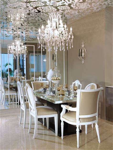 glamorous interiors a beautiful dining room