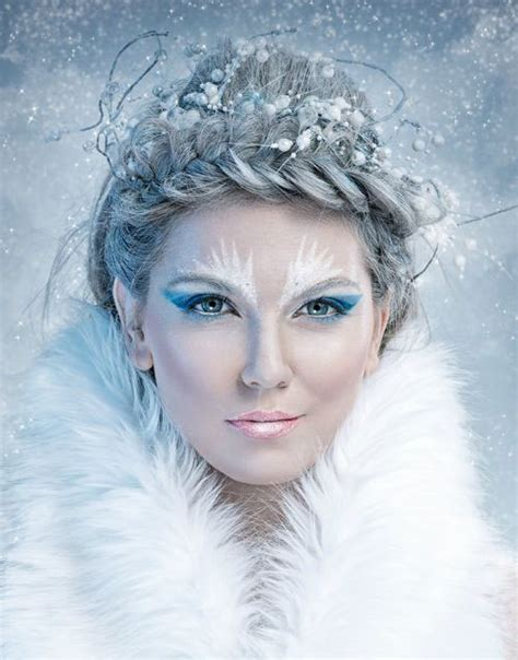 15 winter snow amp ice queen make up looks ideas amp trends