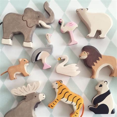 Handmade Childrens Toys - best 10 wooden animals ideas on