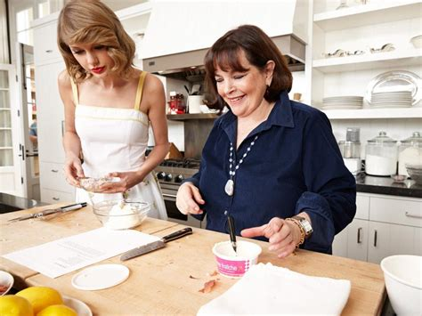 food network ina garten behind the scenes ina garten and taylor swift food network