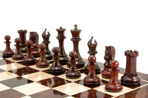 chess set the regency chess company blog red sandalwood luxury chess