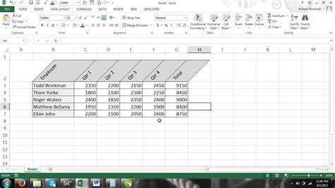 Rotate A Table In Word by Excel For Noobs Part 45 How To Display Text At An Angle